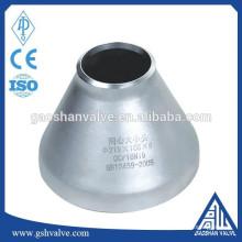 Redutor de tubo de solda de aço inoxidável 304