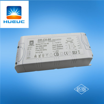 12V 5.5A 66W 0-10V conductor led dimmable