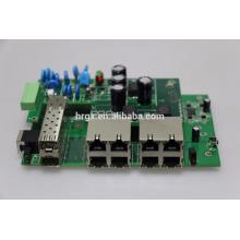 POE + poe interruptor industrial 30 w pcee board ieee802.3af / em vlan suporte cascata