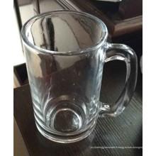 Coupe en verre de haute qualité Verre Verre Tasse à bière Kb-Hn07172