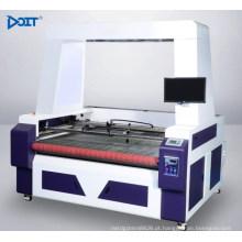 DT1610-V-AF inteligente visão da câmera posição assíncrona dual-cabeças máquina de corte a laser automático