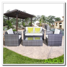 Audu Knock Down Steel Rattan Furniture Outdoor