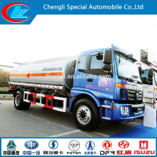 Heavy Duty Fuel Truck China Fuel Tank Truck Large Capacity Foton Oil Truck