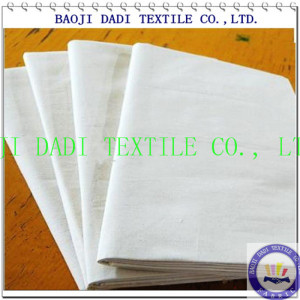 T/C 90/10 bleached fabric