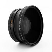 Lente macro do ângulo largo de 62mm 0.43X para a lente de câmera de Canon EOS Nikon