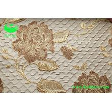 Polyester Jacquard Vorhang Stoff (BS1306)