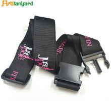 Hight Quality Travel Luggage Strap with Logo
