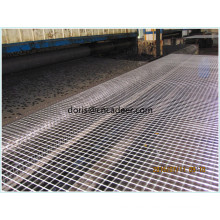 China Bitumen Coated Biaxial Fiberglass Geogrid