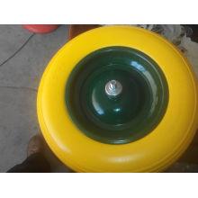Best-Seller de Alta Qualidade 400-8 PU Foam Wheel 16 Inch