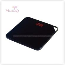 Escala eletrônica de vidro do peso do ABS 180kg (32 * 32 * 2.7cm)