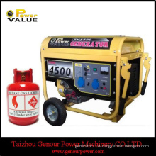 Strong Frame 4kw 4kVA LPG Magnetic Generator for Sale
