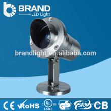 IP68 304 Acier inoxydable 3W LED Pool Light IP68 LED Pool Light, 3 ans de garantie