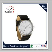 Moda relógios homens de quartzo de aço inoxidável e senhoras assistir (dc-1410)