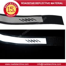 Ajustable de nylon reflectante gancho y lazo brazalete