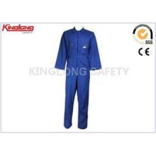 100% Cotton Navy Blue Fire Resistant Workwear Factory Worke
