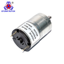 Motores de 12 V ET-SGM32B DC Motor de engranajes 5rpm con reductor