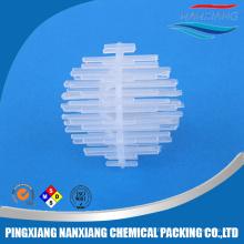 Bille en plastique d'Igel utilisée dans le traitement de l'eau douce et marine