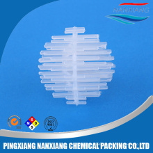 Plastic Igel ball used in fresh and marine water treatment