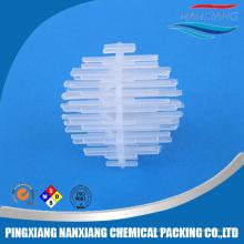 Bola plástica de Igel usada em tratamento de água doce e marinha
