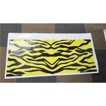 Warna Penuh Die Cut Vinyl Digital Sticker Percetakan