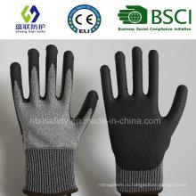 С полиуретановым покрытием сократить устойчивые перчатки работы безопасности (PE1001)
