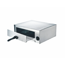 "12"" Pizza Oven with Stainless Steel Body Cool Touch Handle"