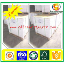 Blanco 60-150g Papel de revista de impresión