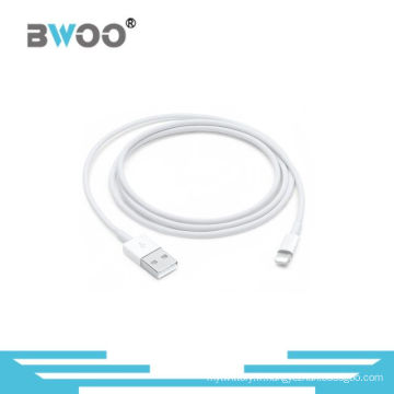 Données professionnelles du fabricant USB chargeant le câble de la foudre 8pin