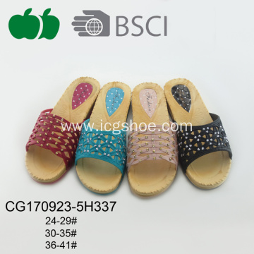 Cheap Hot Sale Woman Plastic Slipper