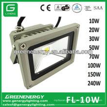 3 Jahre Garantie 10W RGB Licht IP65 High Power COB LED Flutlicht 10W 20W 30W 50W 70W 100W 120W 150W 240W CE RoHS TÜV GS SAA EMC