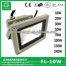 3 Years Warranty 10W RGB Light IP65 High Power COB LED Floodlight 10W 20W 30W 50W 70W 100W 120W 150W 240W CE RoHS TUV GS SAA EMC