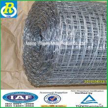 Una malla de alambre galvanizado de la fábrica del silbido de bala