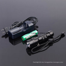 Wiederaufladbare Taschenlampe mit Ce, RoHS, MSDS, ISO, SGS