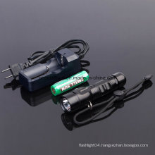 Rechargeable Flashlight with Ce, RoHS, MSDS, ISO, SGS
