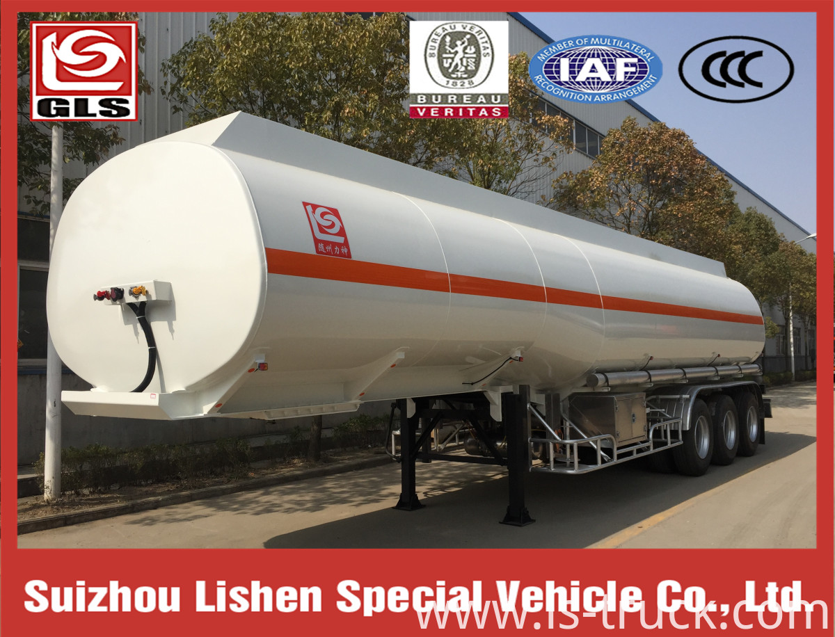 3 axles Methanol Methyl Alcohol Tank Semi-Trailer Truck Tanker