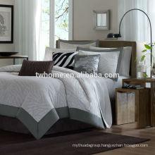 Madison Park Sasha Jacquard Zabra Duvet Bed Cover Set