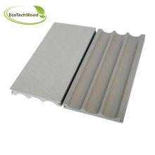 White Color Wood Plastic Composite Decking