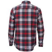 Herren Baumwolle Langarm Casual Work Shirt