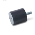 Rubber Vibration Damper With Screw Inserted