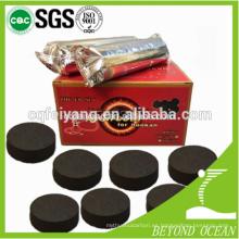 Magia de coco shisha importar tabletas de carbón