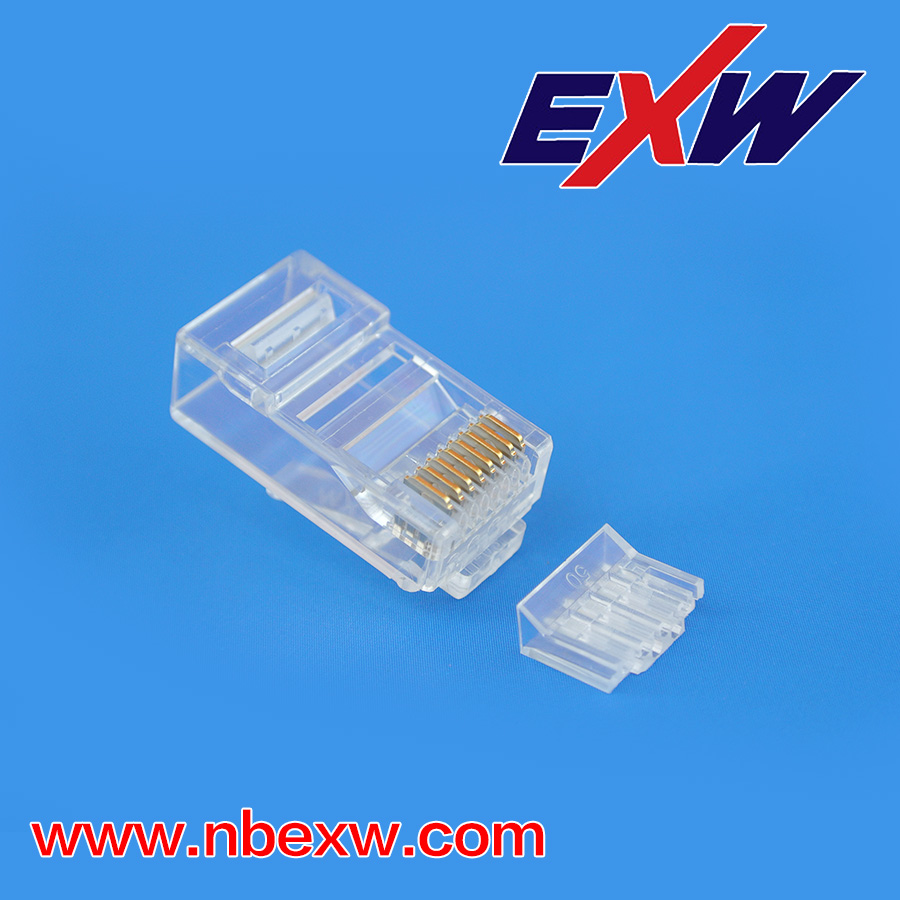 CAT6 RJ45 Plug Gold Plated 50U