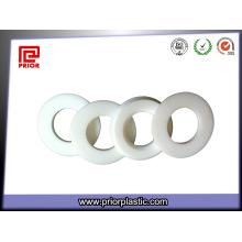 Gaxeta plástica feita sob encomenda de PTFE com material puro de 100%