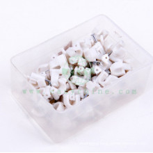 Shock Resisting Circle Nail Plastic Cable Clips