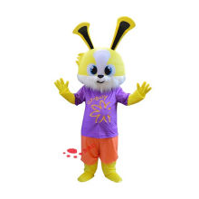 plush animation rabbit costume