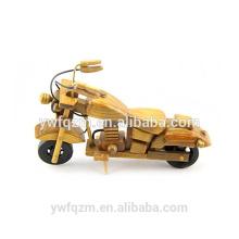 Decoración del hogar Artesanías de madera Juguetes de la motocicleta