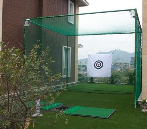 Hot Sale preto verde Golf Practice Net
