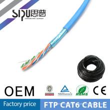 SIPUO alta velocidad lan cable cat5e cat6 100m precio en fábrica