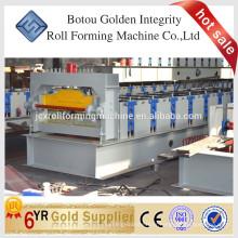 Machine de formage de rouleaux de plancher en métal / Machine de toiture en acier