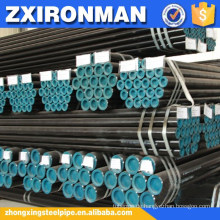 ASTM A 106 B Ruß nahtlose Stahlrohr
