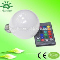 China factory aluminium wifi control rgb led bulbe 10w avec e27 gu10 mr16